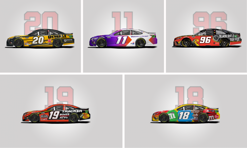 A Bold Look for Toyota Racing at Daytona