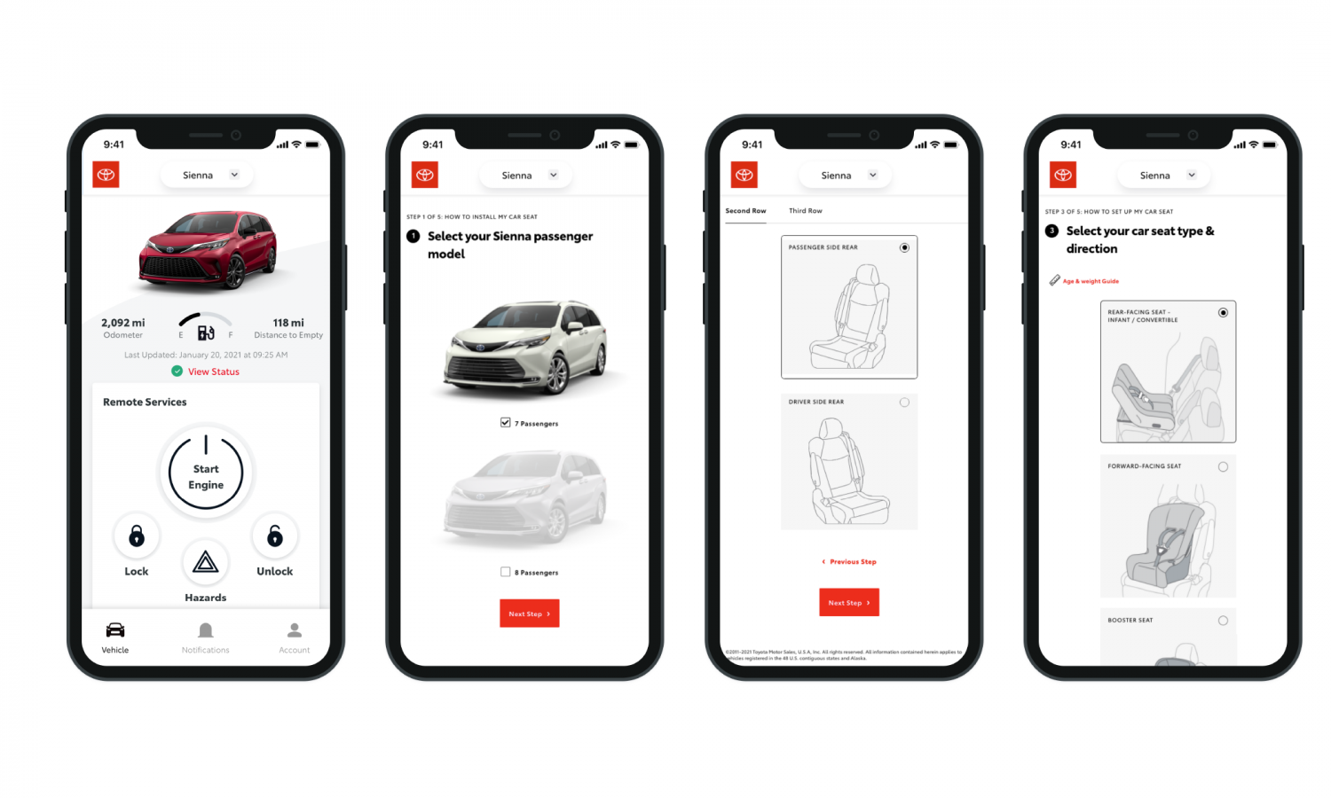 How to Install a Child Car Seat in my Toyota: There's an App for That!