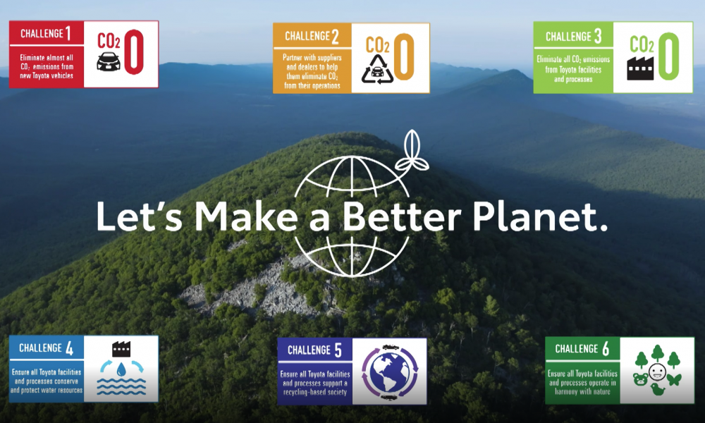 There's Only One Planet Earth: Toyota Motor North America's 7th Environmental Action Plan
