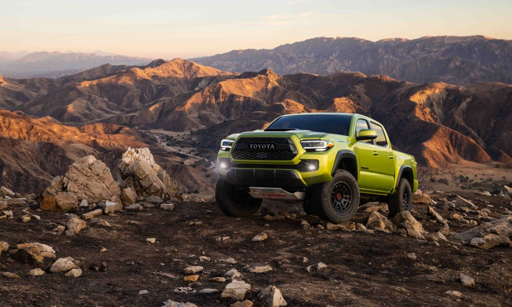 Next-Generation Tacoma TRD Pro Takes Off-Road Performance Up a Notch