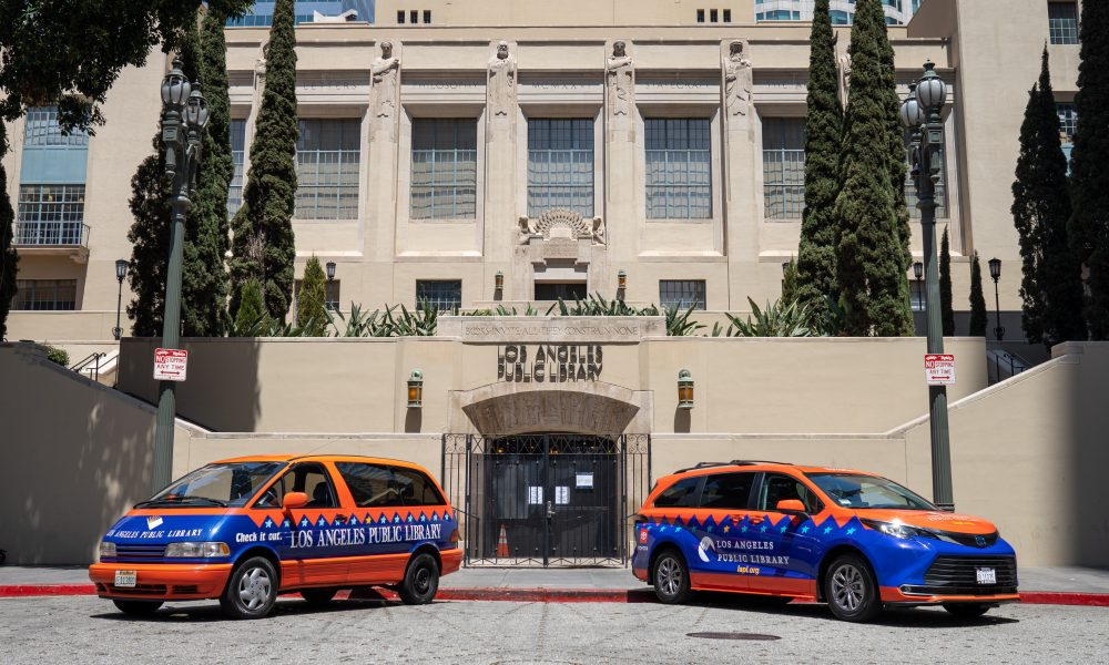 The All-New Sienna Replaces Predecessor of 26 Years to Continue Serving the Los Angeles Public Library Community