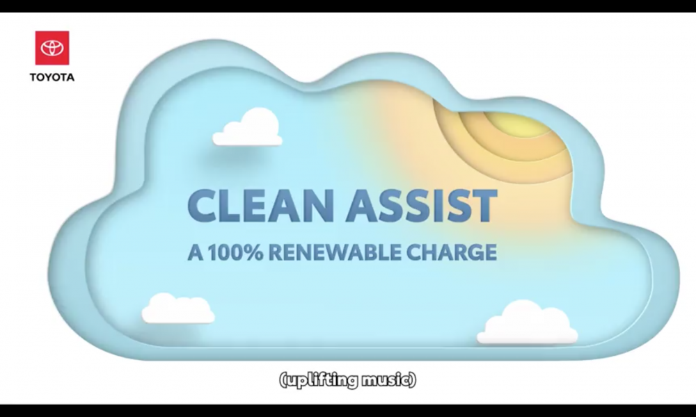 New Clean Assist Program Allows Carbon Free Charging for Toyota Plug In Owners in California