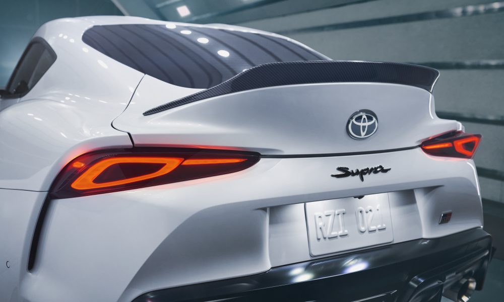Supra A91-CF Detail-RearWing_WindTunnel_0732