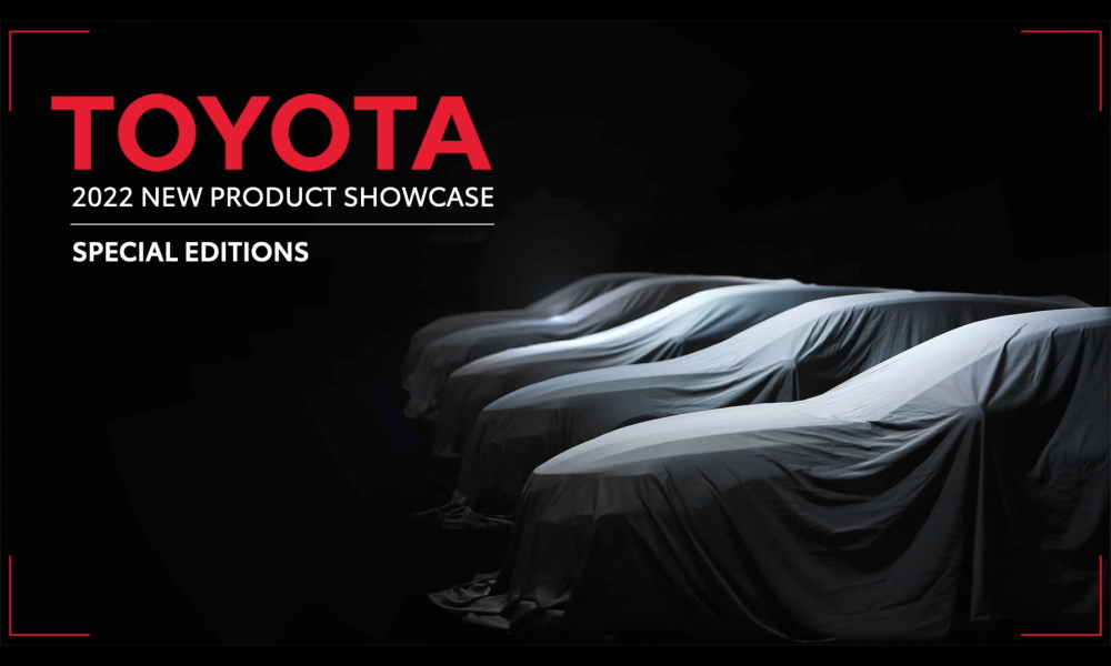 Toyota New Product Showcase_Special Editions
