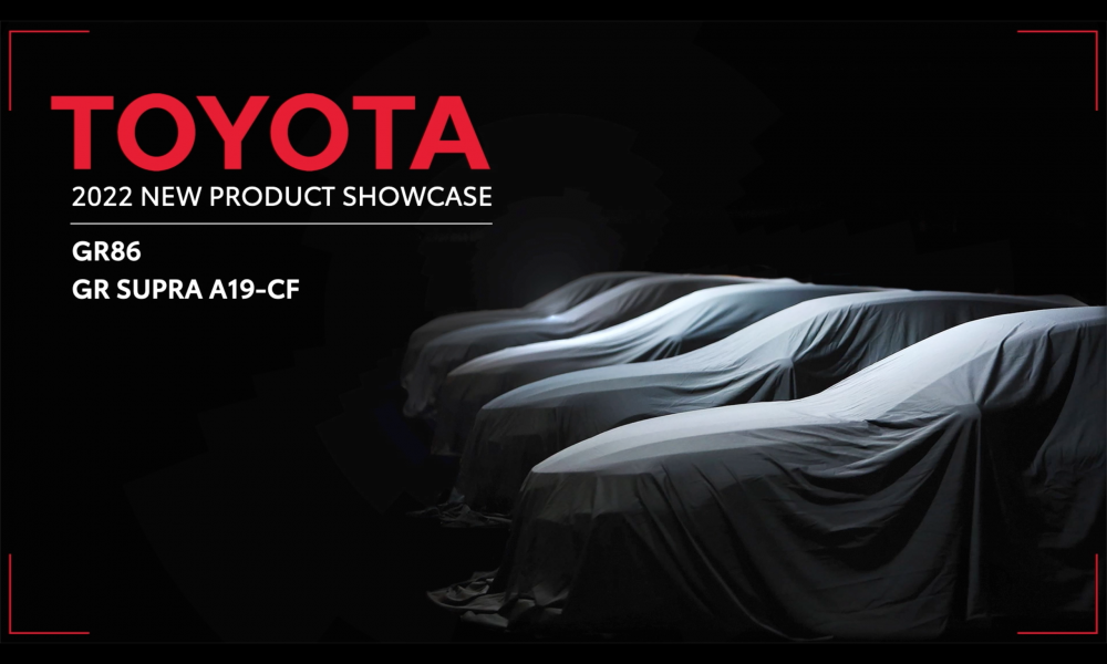 Toyota New Product Showcase_Sports Cars