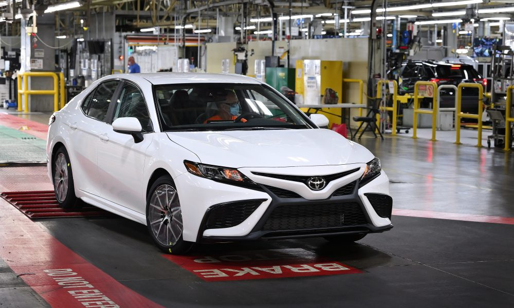 Toyota Celebrates Production of 10 Millionth Camry in Kentucky