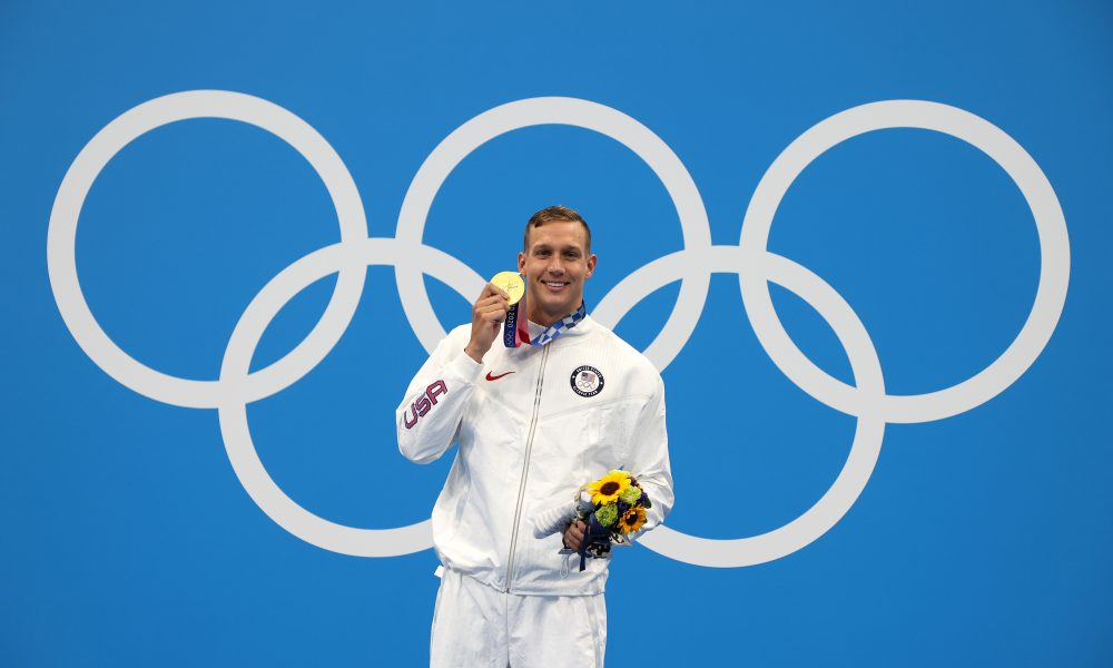 Team USA, Team Toyota's Caeleb Dressel Wins Total of Five Gold Medals at Tokyo 2020