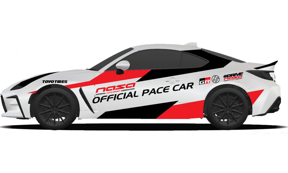 2022 Toyota GR 86 Named Official Pace Car for National Auto Sport Association Championship Races in Daytona