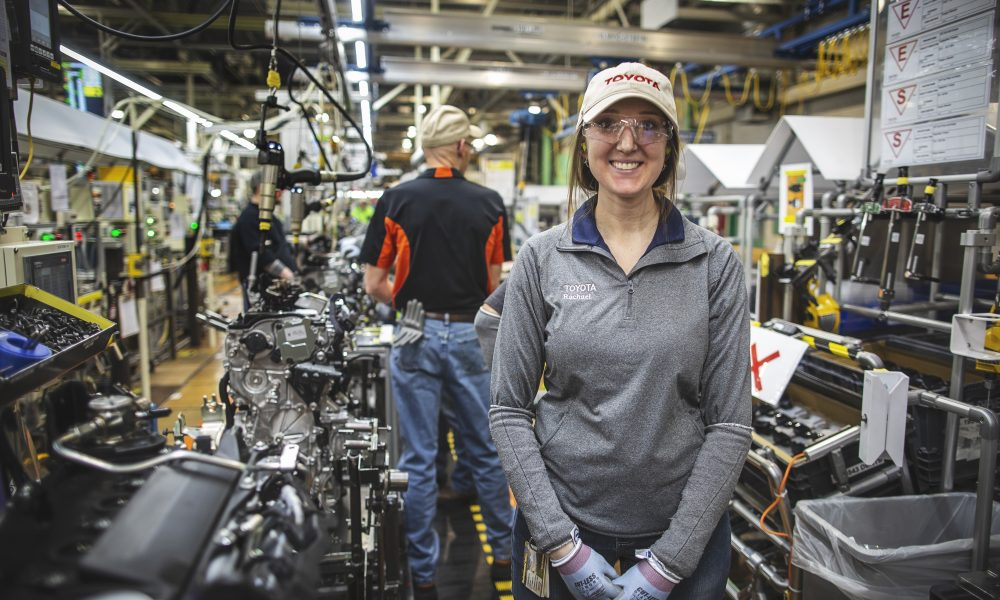 In a Flash: Toyota West Virginia Cranks Out Engines and Transmissions in Seconds