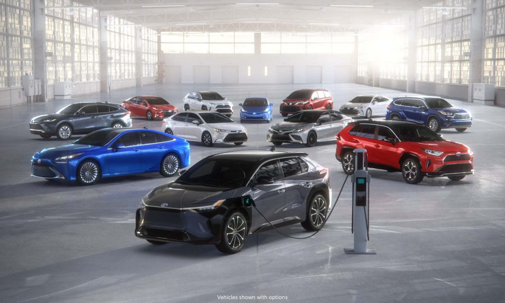 Toyota Charges into Electrified Future in the U.S. with 10-year, $3.4 billion Investment